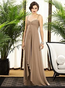 Dessy Cappuccino (Brown) 2883 Dress