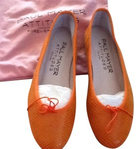 Paul Mayer Orange Flats