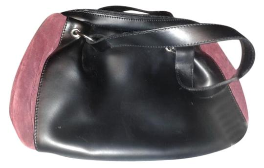 Preload https://img-static.tradesy.com/item/16339477/made-in-italy-sides-black-with-burgundy-leather-and-suede-tote-0-1-540-540.jpg