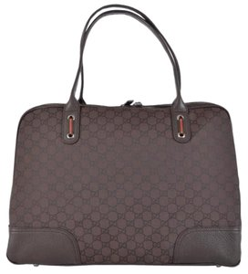 Gucci Lv Prada Chanel Burberry Tote in Dark Brown
