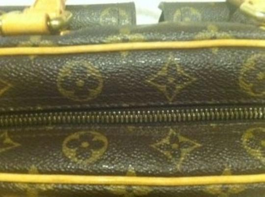 Louis Vuitton Signature Leather Trim Luxury Satchel in Classic Monogram Canvas
