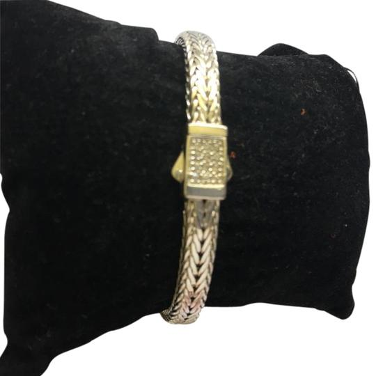 Preload https://img-static.tradesy.com/item/16340572/silver-woven-collection-sterling-with-white-sapphire-bracelet-0-1-540-540.jpg