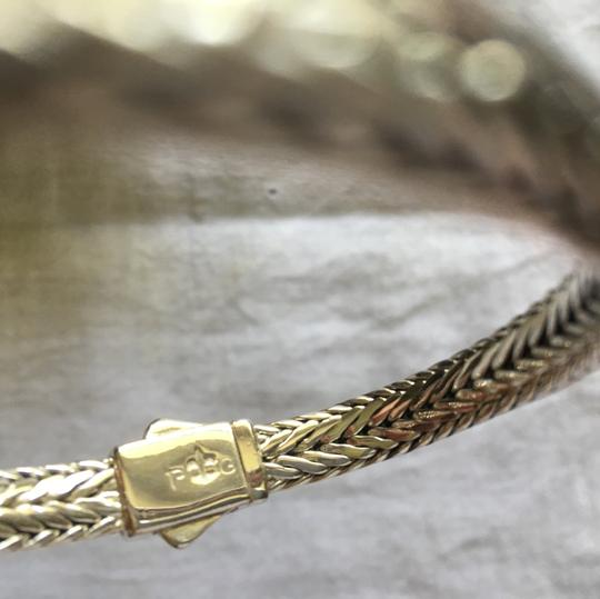 Phillip Gavriel Woven Collection. Sterling silver with white sapphire