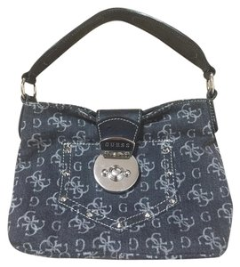 Guess Denim Small Mini Satchel