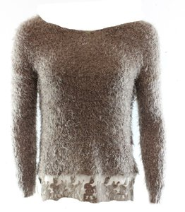 Olivia Sky Boat-neck Long-sleeve New With Tags 3020-0334 Sweater