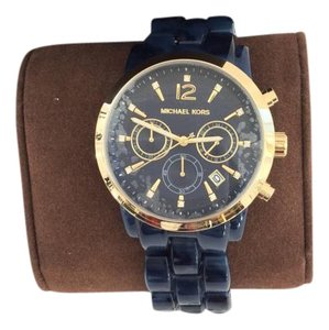 Michael Kors Michael Kors MK6236 Audrina Chronograph Navy Blue Tort Acetate Watch