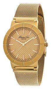 Kenneth Cole Kenneth Cole Female Dress Watch KC4909 Gold Analog
