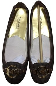 MICHAEL Michael Kors Brown Flats