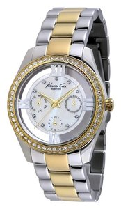 Kenneth Cole Kenneth Cole Female Dress Watch KC4904 Two-Tone Analog