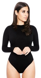 Other Turtleneck Thin Striped Top black