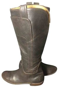 Frye 77535 Paige Talll Brown Boots