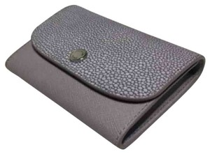 MICHAEL Michael Kors Michael Kors Juliana 3 in 1 MD Flap Wallet Lilac Embossed Leather 32S6SJRE6N