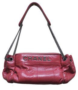 Chanel Camera Case Lambskin Handbag Shoulder Bag