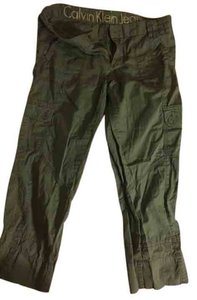 Calvin Klein Cargo Pants Army green
