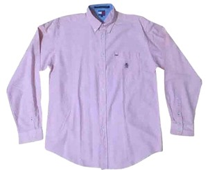 Tommy Hilfiger Junior Men Button Button Down Shirt Pink