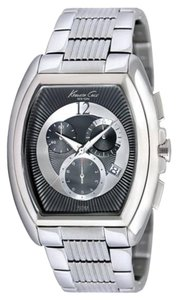 Kenneth Cole Kenneth Cole Male Dress Watch KC9164 Black Analog