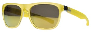 Lacoste Lacoste Clear Yellow Wayfarer Sunglasses