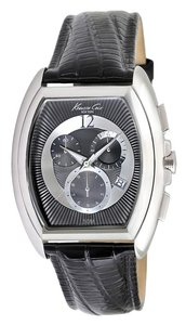 Kenneth Cole Kenneth Cole Male Dress Watch KC1880 Black Chronograph