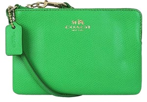 Coach Wristlet in Jade