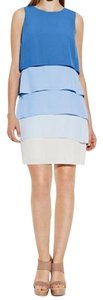 Vince Camuto short dress blue Vince Shift Ombre on Tradesy