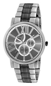 Kenneth Cole Kenneth Cole Male Dress Watch KC9282 Silver Analog