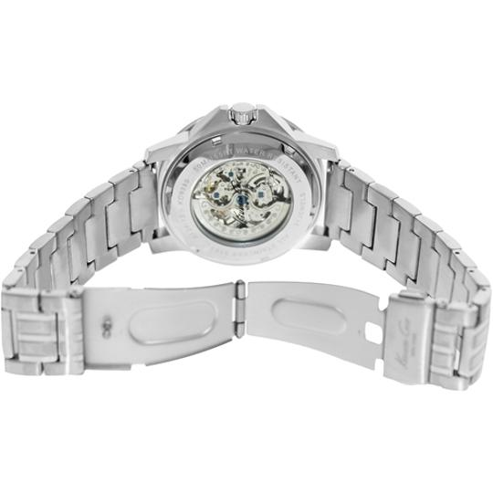 Kenneth Cole Kenneth Cole Male Dress Watch KC9280 Silver Analog
