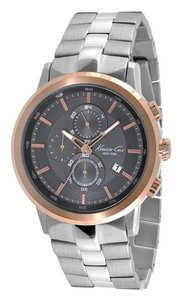 Kenneth Cole Kenneth Cole Male Dress Watch KC9258 Silver Analog