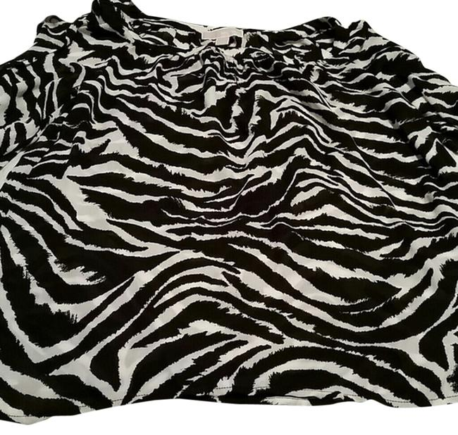 Item - Black and White Tunic Size 14 (L)
