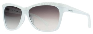 Lacoste Lacoste White Square Sunglasses