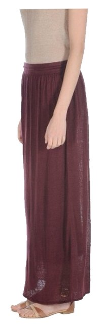 Stefanel Skirt Burgundy
