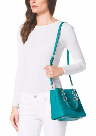 Michael Kors Satchel in Tile Blue
