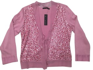 The Limited Silk Sequin Embellished Cardigan