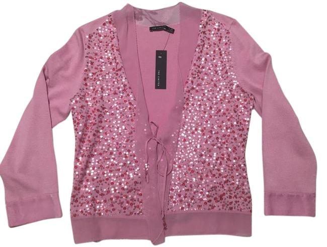 Preload https://img-static.tradesy.com/item/16347850/the-limited-pink-new-embellished-cardigan-size-4-s-0-1-650-650.jpg
