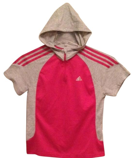 Item - Pink Gray Hooded Activewear Top Size 4 (S, 27)