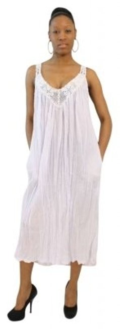 Preload https://img-static.tradesy.com/item/163482/white-gauze-sleeveless-with-embroidery-shoulder-and-neckline-summer-mid-length-short-casual-dress-si-0-0-650-650.jpg