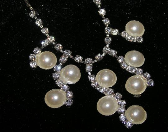 Silver Bogo Free Bride/Maid Of Honor/ Mob/Prom Free Shipping Jewelry Set