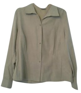 Sonoma Shirts Button Down Shirt Light Brown