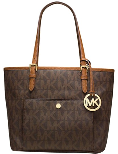 Preload https://img-static.tradesy.com/item/16350565/michael-kors-jet-set-travel-medium-snap-pocket-logo-brown-gold-leather-tote-0-4-540-540.jpg