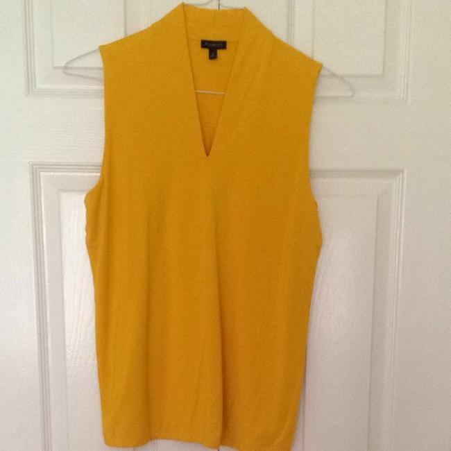 Preload https://item2.tradesy.com/images/talbots-mustard-yellow-blouse-size-8-m-1635111-0-0.jpg?width=400&height=650