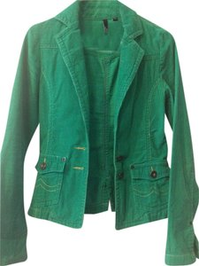 Coffee Shop Corduroy Green Blazer