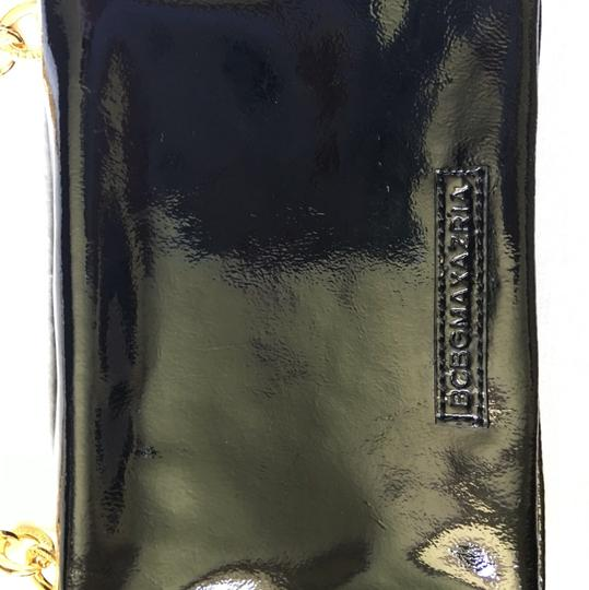 BCBGMAXAZRIA Black:Gold Clutch
