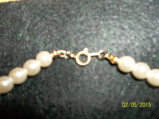 Other Faux Pearl Necklace, White
