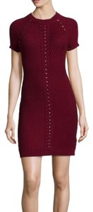 Philosophy di Alberta Ferretti short dress Red on Tradesy