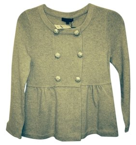 J.Crew Sweater Jacket Crystal Cardigan