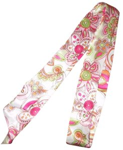 Other Pink Floral Scarf