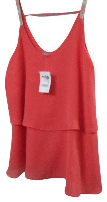 Preload https://img-static.tradesy.com/item/16355287/charlotte-russe-coral-blouse-size-4-s-0-1-650-650.jpg