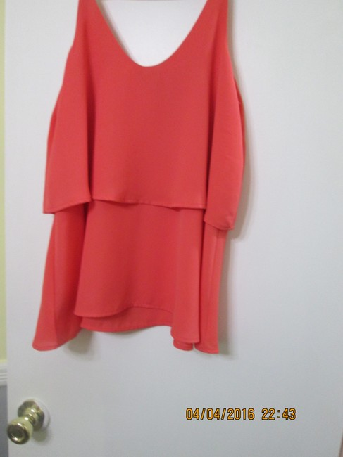 Charlotte Russe Top coral