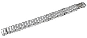 Chanel Unusual Chanel Sterling Silver Moveable Bracelet