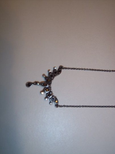 Other Silver Marquisite-Type Necklace