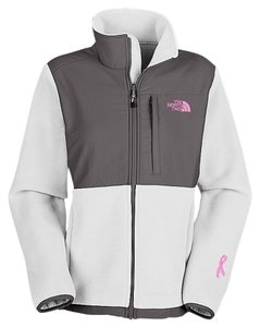 The North Face white and pink Jacket